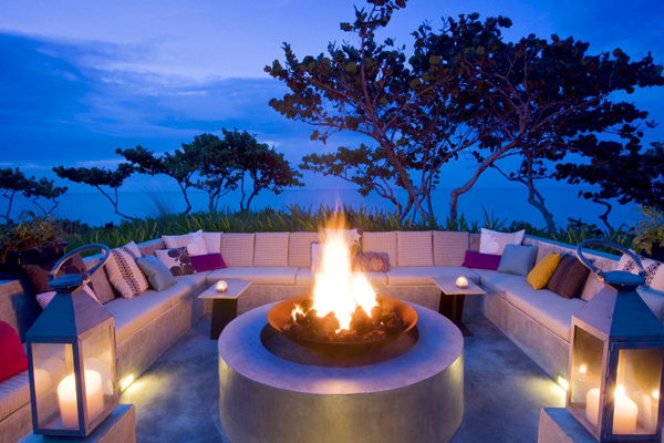 W Resort & Spa Fire Pit